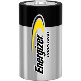 Energizer Industrial EN95 D Alkaline Batteries - Pkg Qty 12