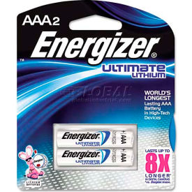 AAA e² Lithium Batteries, 2 per Pack