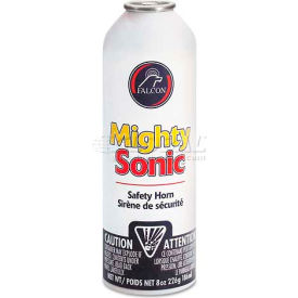 Falcon Safety Products FALMSNR Mighty Sonic Safety Horn Refill Can