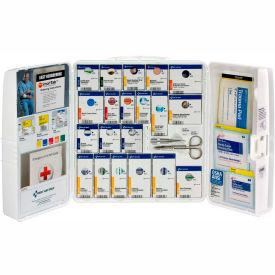 First Aid Only 1001-FAE-0103 Large First Aid Kit, 100 Pieces, OSHA Compliant,...