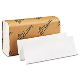Acclaim Folded Paper Towel, 9-1/4 x 9-1/2, White, 250/Pack, 16/Carton - GEP20204