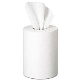 SofPull Premium 1-Ply Jr. Capacity Center-Pull Towels, 7.8 x 12, White, 8/Carton - GEP28125