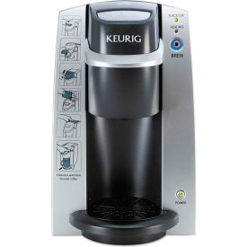 Keurig K130 - Single Cup, Commercial Hospitality Brewer, Silver/Black,