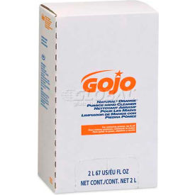 GOJO® GOJ7255 NATURAL ORANGE Pumice Hand Cleaner Refill,Citrus Scent,2000 mL,4/Carton