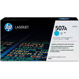 HP CE401AG (HP 507A) Government Toner, 6,000 Page Yield, Cyan