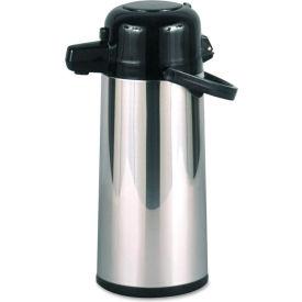 Hormel Commercial Grade 2.2 Liter Airpot, w/Push-Button Pump, Stainless Steel