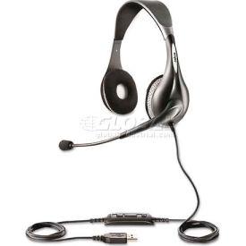 Jabra 1599-823-109 UC Voice 150 Binaural Over-the-Head Corded Headset, Microsoft Certified