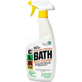 CLR Bath Daily Cleaner, Light Lavender, 32 oz Spray Bottle, 6 Bottles/Case JELBATH32PRO by
