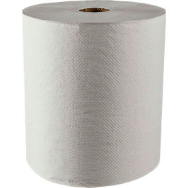 SCOTT 100% Recycled Fiber Hard Roll Towels, White, 8 x 800', 12/Carton - KIM01052