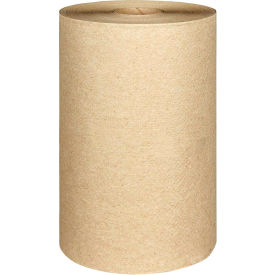 Scott® Nonperforated Paper Towel Rolls, 8 x 400', Natural, 12 Rolls/Case - KIM02021