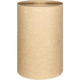 Nonperforated Paper Towel Rolls, 8 x 400', Natural, 12/Carton - KIM02021
