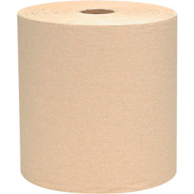 Scott® Nonperforated Paper Towel Rolls, 8 x 800', Natural, 12 Rolls/Case - KIM04142