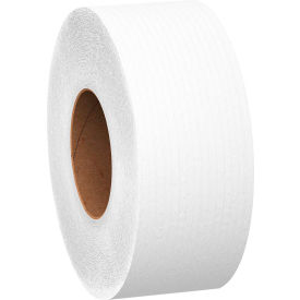 "Scott® JRT Jr. Jumbo Bathroom Tissue Roll, 9"" dia, 1000 ft, 12 Rolls/Case - KIM07805"