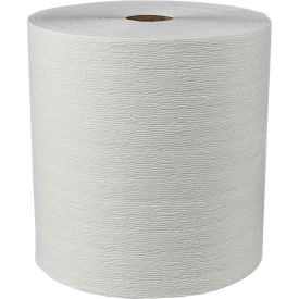 "Kleenex® Hard Roll Towels, 8"" x 600', 7.9"" Diameter, White, 6 Rolls/Case - KIM11090"