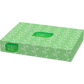 Surpass® Facial Tissue, Flat Box, 100/Box, 30 Boxes/Case - KIM21340