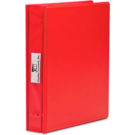 Charles Leonard® Varicap6 Expandable 1 To 6 Post Binder, 11 x 8-1/2, Red