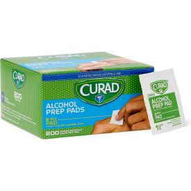 Curad® Sterile Alcohol Prep Pads, Medium, 2-Ply, 200/Box
