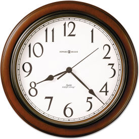 "Howard Miller® Talon Wall Clock, 15-1/4"", Cherry"