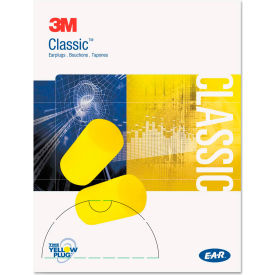 3M™ E-A-R™ Classic™ Small Earplugs, Uncorded, 310-1103 200 Pairs