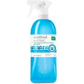 Method Antibacterial Bathroom Spray, Spearmint, 28 oz. Trigger Spray Bottle 01152 by
