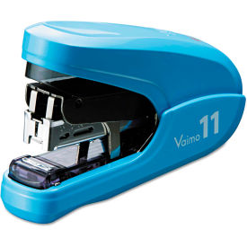 Max® Flat Clinch Light Effort Stapler, 35-Sheet Capacity, Blue