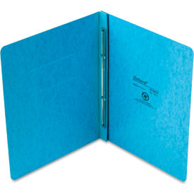 """Oxford PressGuard Report Cover, Prong Clip, Letter, 3"""" Capacity, Light Blue by"""