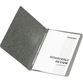 "Oxford PressGuard Coated Report Cover, Prong Clip, Letter, 3"" Capacity, Black by"