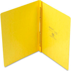 "Oxford PressGuard Report Cover, Prong Clip, Letter, 3"" Capacity, Yellow by"