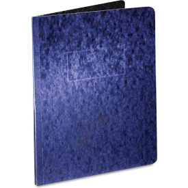 "Oxford Pressboard Report Cover, 2 Prong Fastener, Letter, 3"" Capacity, Dark Blue by"