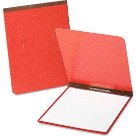 """Oxford PressGuard Coated Report Cover, Prong Clip, Letter, 2"""" Capacity, Red by"""
