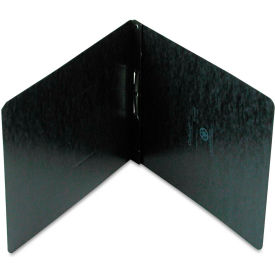 """Oxford Pressboard Report Cover, Prong Clip, Letter, 2"""" Capacity, Black by"""