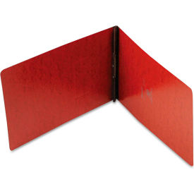 """Oxford PressGuard Coated Report Cover, Prong Clip, Legal, 2"""" Capacity, Red by"""