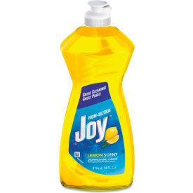Joy Manual Dish Detergent Liquid, Lemon, 14 oz. Bottle, 25 Bottles - 21737