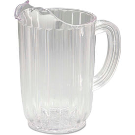Rubbermaid® Commercial Bouncer Plastic Pitcher, 32 Oz., Clear