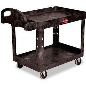 "Rubbermaid® 4520-88 Tray Shelf Plastic Service Cart 44x25 5"" Casters"