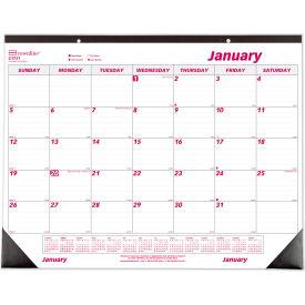 Brownline® Desk Pad Calendar, Chipboard, 22 x 17, 2019