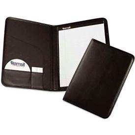 Samsill 70810 Professional Pad Holder, Storage Pockets/Card Slots, Writing Pad, Black