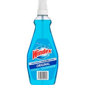 Windex® Glass Cleaner with Ammonia-D, 12 oz. Pump Spray Bottle, 12 Bottles - 060123