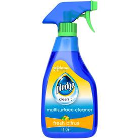 Pledge® Multi-Surface Everyday Cleaner, 99% Natural, 16 oz. Trigger Bottle, 6 Bottles - 644973
