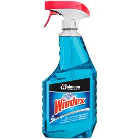 Windex® Glass Cleaner with Ammonia-D, 32 oz. Trigger Spray Bottle, 12 Bottles - 695155