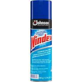 Windex® Powerized Glass Cleaner with Ammonia-D, 20 oz. Aerosol Spray, 12 Cans - 696501