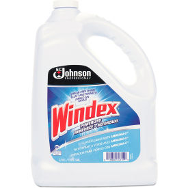 Windex® Glass Cleaner with Ammonia-D, 1 Gallon Bottle, 4 Bottles - 696503