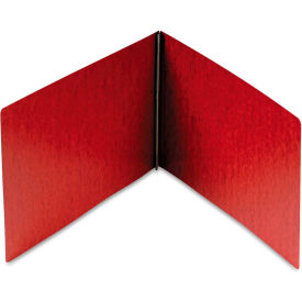 Smead Top Opening PressGuard Report Cover, Prong Fastener, 11 x 17, Red by