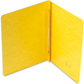 Smead Side Opening PressGuard Report Cover, Prong Fastener, Letter, Yellow by