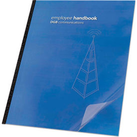 Swingline GBC Clear View Presentation Binding System Cover, Unpunched, Clear by