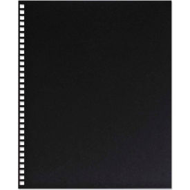 Swingline™ GBC® ProClick Pre-Punched Presentation Covers, 11 x 8-1/2, Black, 25/Pack