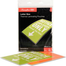 Swingline™ GBC® Laminating Pouches, 3 mil, 9 x 11 1/2, 25/Pack