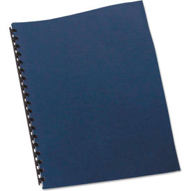 Swingline GBC Linen Textured Binding System Covers, 11 x 8-1/2, Navy, 200/Box by