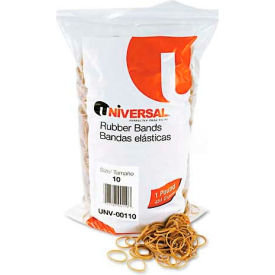 Universal® Rubber Bands, Size 10, 1-1/4 x 1/16, 3400 Bands/1lb Pack