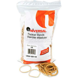Universal® Rubber Bands, Size 18, 3 x 1/16, 1600 Bands/1lb Pack